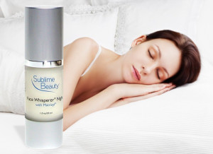 Face Whisperer Night product and girl