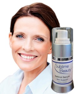 Retinol and Sublime Beauty girl