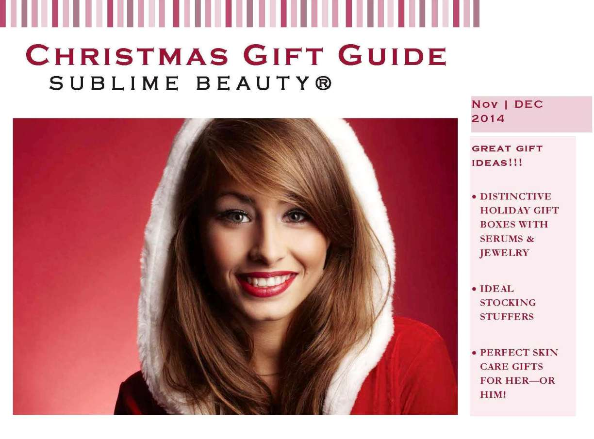 2014 Christmas Guide COVER
