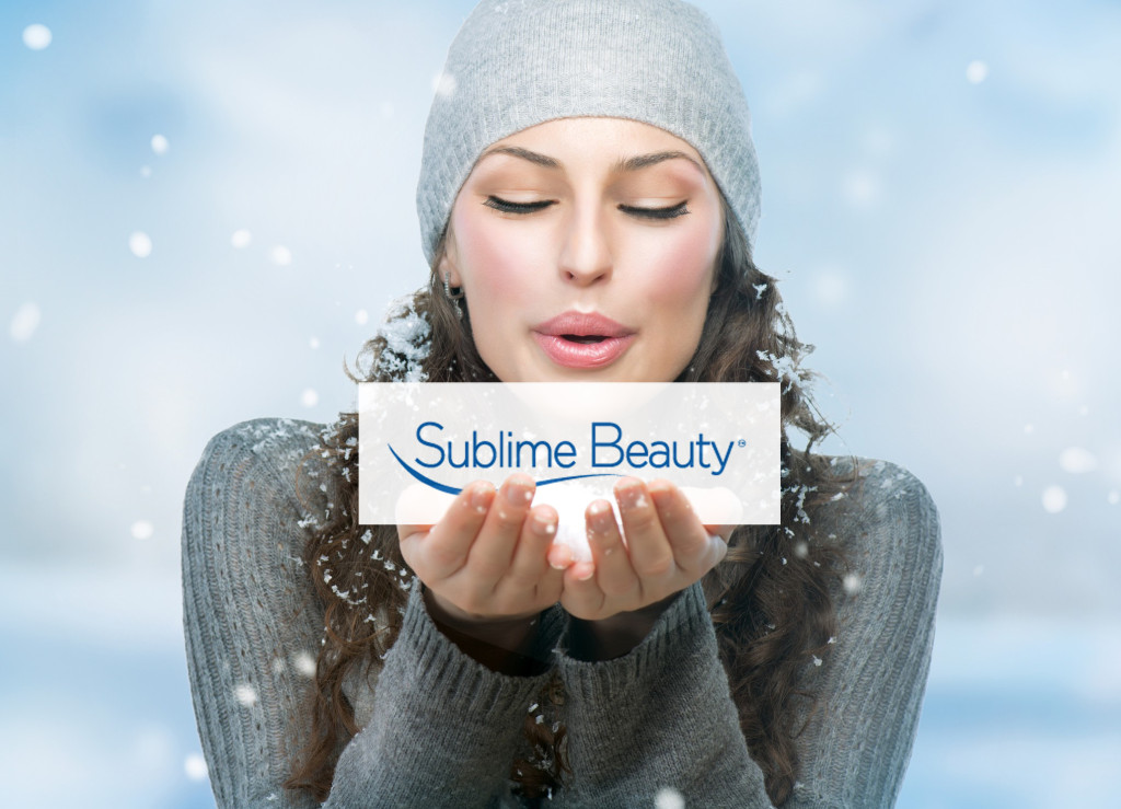 Sublime logo and winter girl