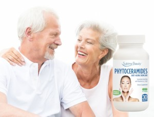 Phytoceramides and Older Happy Couple white