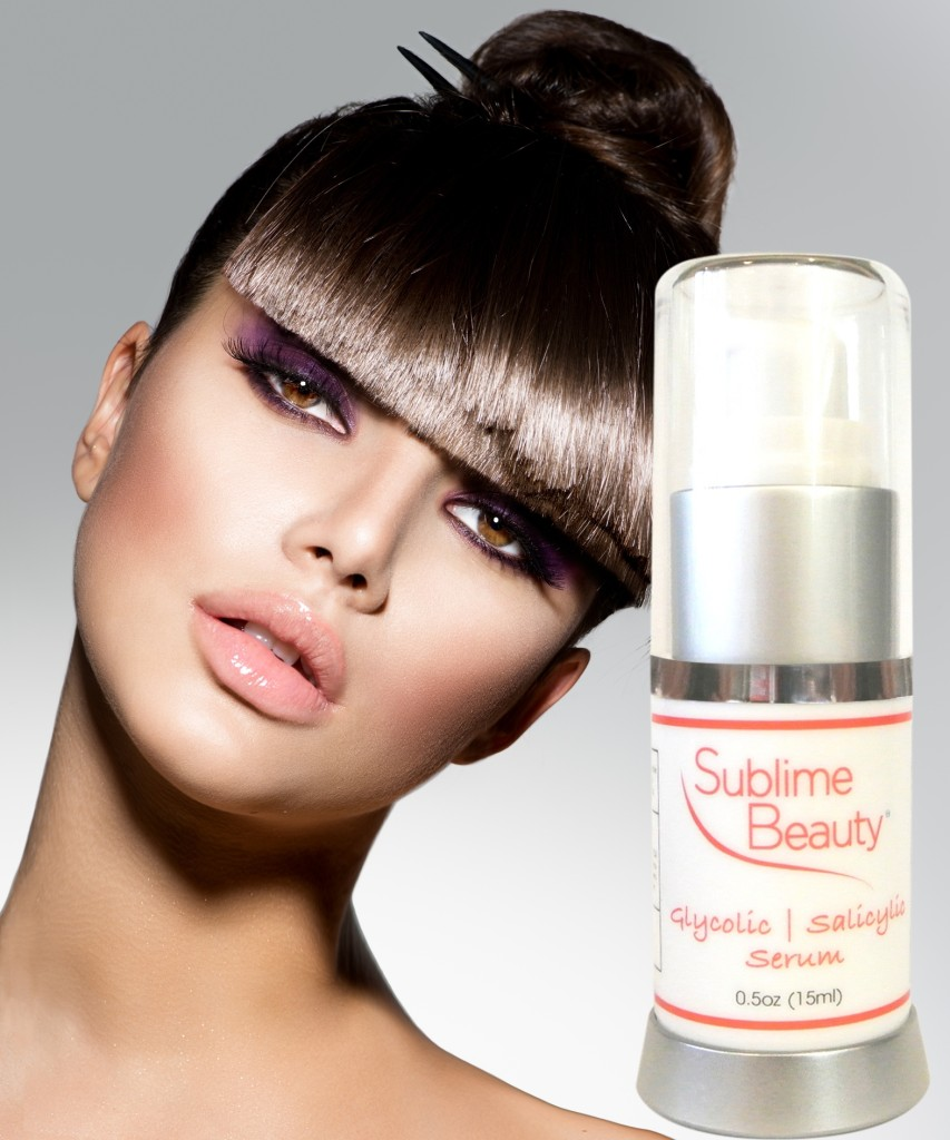 glycolic serum at sublime beauty