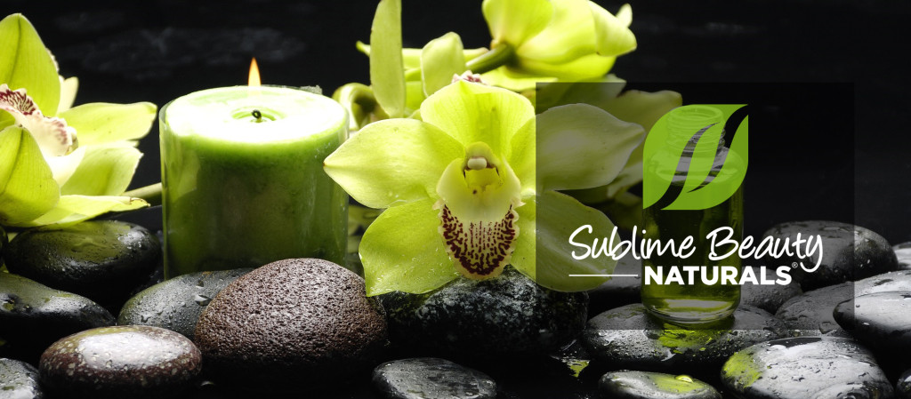 Sublime Beauty naturals spa look Social Media cover black logo